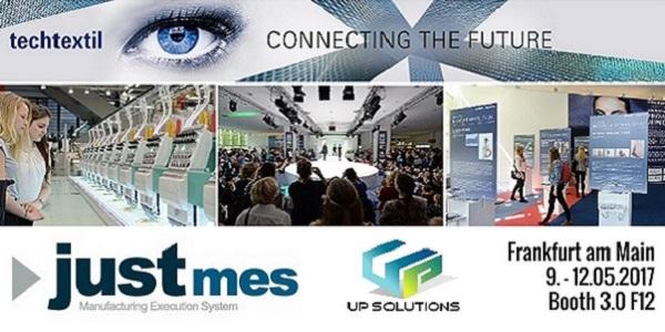 Techtextil 2017 arrive et Up Solutions est prête !