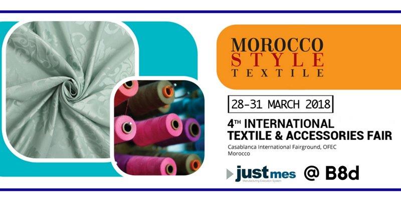Just MES vous invite à Morocco Style Textile !